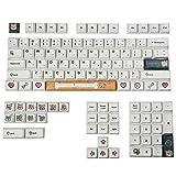 OVBBESS Shiba Lnu XDA Keycap PBT Sublimación Ball Cap Compatible: GH60, GK61, GK64, XD60 GH6064/68/96/87/104/108