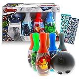 Avengers Toys Games Activities Bundle Marvel Avengers Playset - Avengers Bowling Set Avengers Games for Toddlers Kids (Marvel Avengers Merchandise)