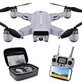 JJRC X18 GPS Drone with 2.7K HD Camera Live Video for Adults, 25Mins Long Flight Time Foldable Quadcopter with Brushless Motor, Return Home, Optical Flow Mode, Follow me, Headless Mode-Carrying Bag