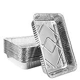 Disposable Aluminum Foil Pans sturdy 24...