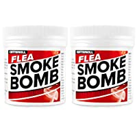 Professional strength 15g Flea killing smoke bomb from Critterkill | fogger | fumigator | smoke 15 grams of Permethrin - More insecticide and more effective than competitors products! Professional strength, now available for home use! Easy to use, fa...