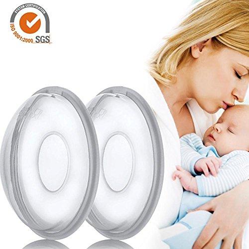 Ritapreaty Melk Saver Verpleging Bekers, Borstcorrectie Shell Verpleging Cup Melk Saver Bescherm Pijnlijke Tepels voor Borstvoeding Verzamel Moedermelk 2 PCS/Pack