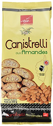Biscuiterie d'Afa Canistrelli aux Amandes Luxe 350 g