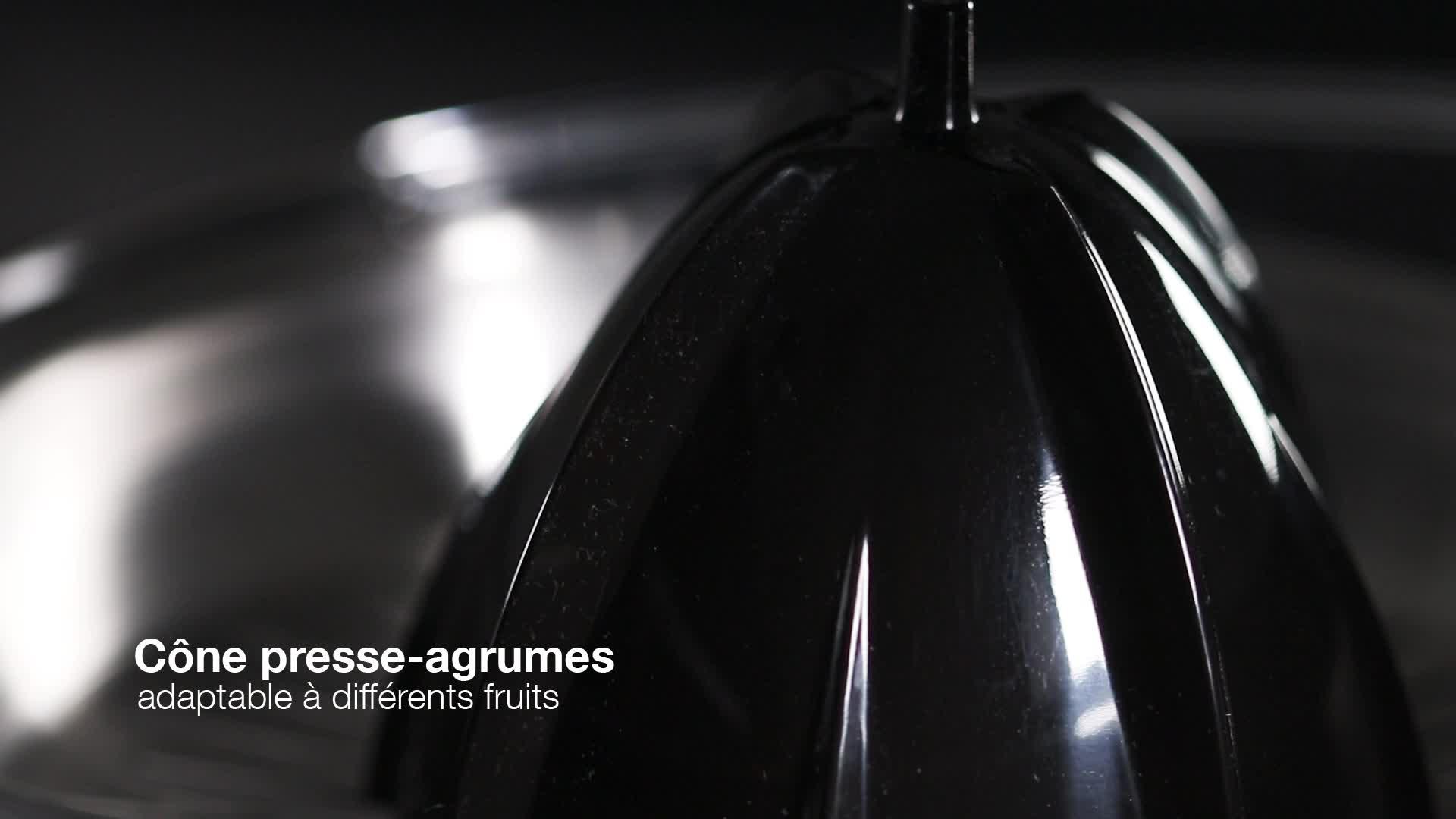 Coul/ée Continue Double Sens de Rotation Bras pour lextraction jus,Amovible pour Un Nettoyage Facile Di4 8486 Succo Pro160-Presse-agrumes /à Levier,160W de Puissance Syst/ème Anti-Goutte