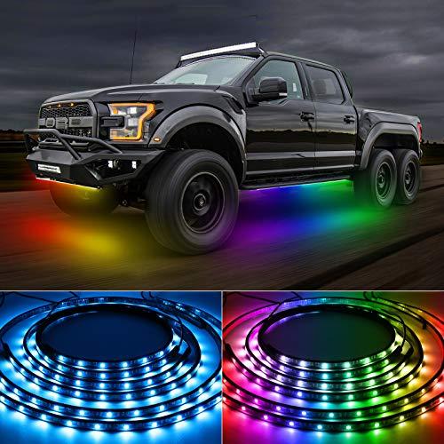 TACHICO Car LED Underglow Lights,47.24ft...