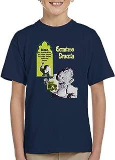 Hammer Horror Films Countess Dracula Blood Poster Kid's T-Shirt