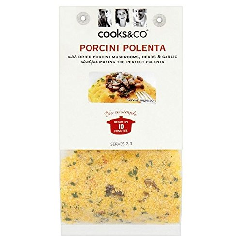 Cooks & Co Porcini Polenta 150g, 2 Pack