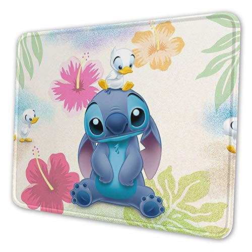 Li-lo & Sti-tch Lovely and Fun Non-Slip Mouse Pad, 10x12 Inch, Gaming Office Mouse Pad