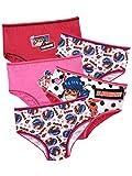 Miraculous Girls' Ladybug Underwear Pack of 5 Size 5 Multicolored