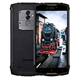 DOOGEE S55 Movil Resistente, Telefono Movil Antigolpes, 5,5 Pulgadas Display, 4G Android 8.0, Batería 5500mAh, 4GB RAM+64GB ROM, IP68 Impermeable Smartphone, Cámara 13.0MP+8.0MP+5MP, Naranja