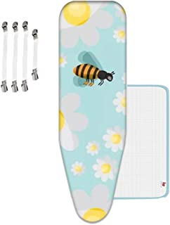 ViviJane Ironing Board Cover, Resist Scorching Staining Mesh Cloth Replacement for Home