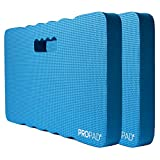 Thick Kneeling Pads, Garden Kneeler for Gardening, Bath Kneeler for Baby Bath, Kneeling Mat for Yoga, Knee Pad for Work, Floor Foam Pad, Extra Large (XL) 18 x 11 x 1.5 Inches, Blue, 2 Pack