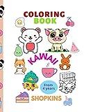 Coloring book Kawaii Shopkins