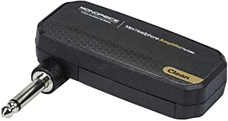 Monoprice 611500 Mini Headphone Amplifier for Guitar, Clean