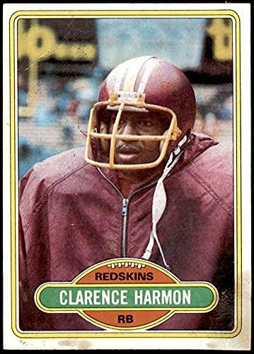 1980 Topps # 44 Clarence Harmon Washington Redskins (Football Card) GOOD Redskins Miss St