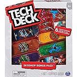 Sk8Shop Bonus Pack - Fingerboard-Set mit 6 authentischen Boards...