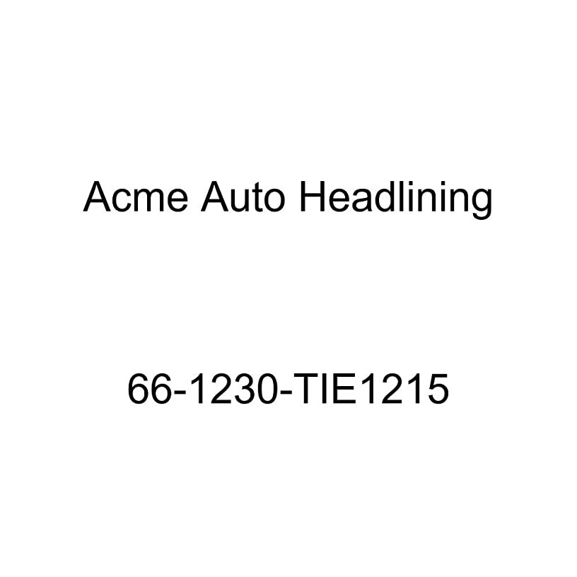 Acme Auto Headlining 66-1230-TIE1215 Turquoise Replacement Headliner (Oldsmobile Vista Cruiser 4 Door Station Wagon 2 Ft 6 Rr Bows)