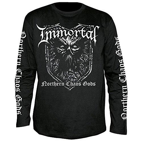 Immortal - Northern Chaos Gods - Langarm - Shirt/Longsleeve Größe S
