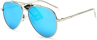 d51b85ba0b LULUVicky-CS Gafas de Sol clásicas para Mujer para Hombre Gafas de Sol de  diseño