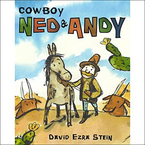 Cowboy Ned & Andy audiobook cover art