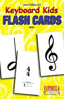 Keyboard Kids Flashcards * Volume 1 by Santorella. Tony (200