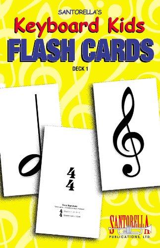 Keyboard Kids Flashcards * Volume 1 by Santorella. Tony (2003-01-01)