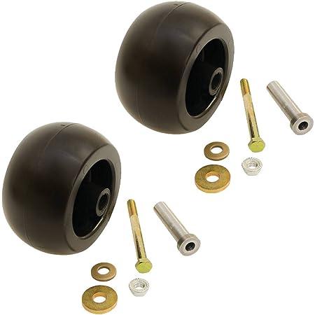 3 Anti Scalp Deck Wheel Roller w// Hardware for Exmark Mower 103-7263 103-3168