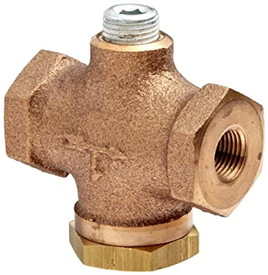 """Control Devices Cast Brass Check Valve, 1/8"""" NPT Female from Control Devices"""