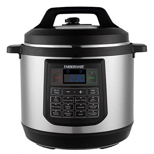 Farberware 8-Quart 7-in-1 Programmable Pressure Cooker