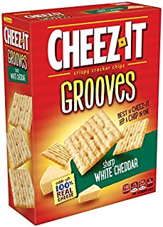 Cheez-It Grooves Sharp White Cheddar, 9 Ounce