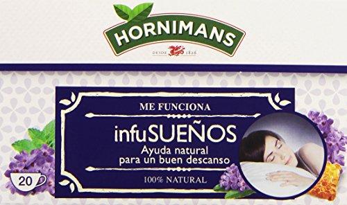 Hornimans Infusueños Infusión con Pasiflora, Lavanda y Miel, 20 Bolsitas