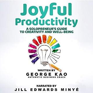 Page de couverture de Joyful Productivity