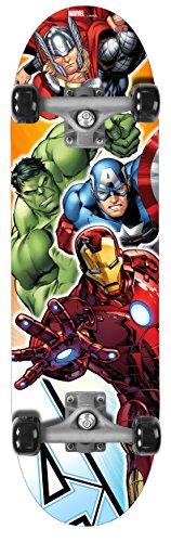 "STAMP SAS Skateboard 28 X 8 Avengers Skate Board 28"" x 8"", Niños, Multicolored, 28 x 8"