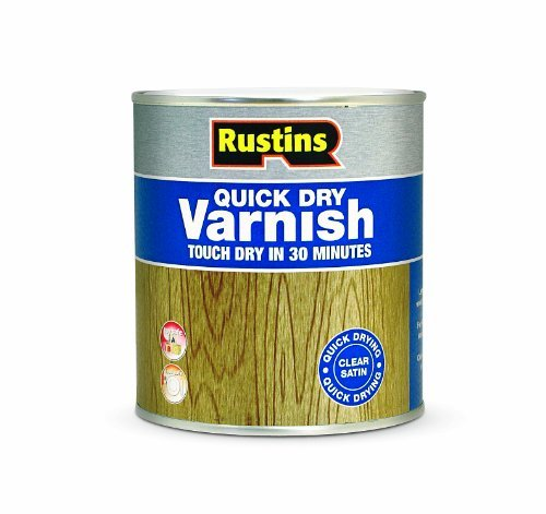 Rustins AVSC50005Liter Schnelltrocknender Lack–Klar, matt