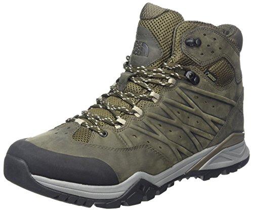 THE NORTH FACE Herren Hedgehog Hike Ii Mid Gore-tex Trekking- & Wanderstiefel, Grün (Tarmacgreen/Burntolivegrn 4Dd), 39 EU