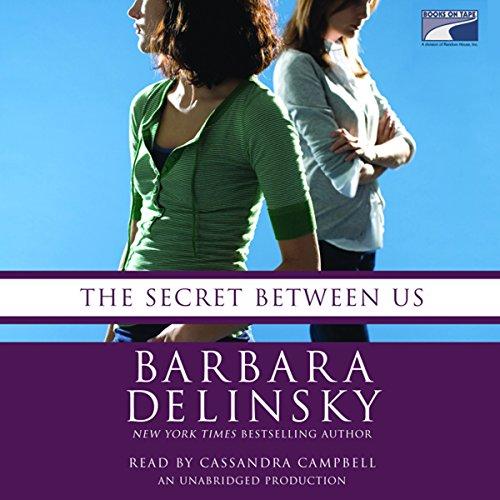 The Secret Between Us audiobook cover art