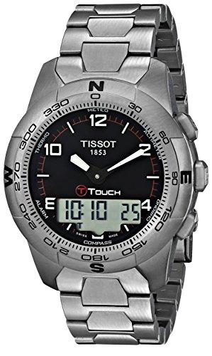 Tissot T0474204405700 - Reloj analógico de caballero de cua
