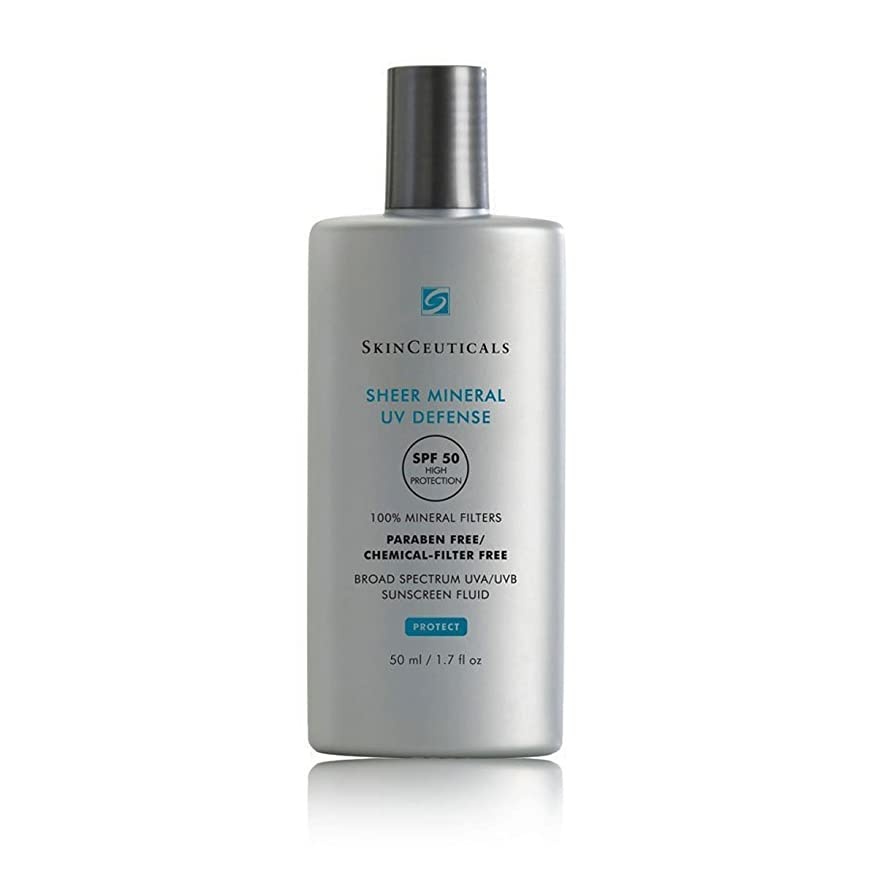 癌虚栄心誘うSkinceuticals Protect Sheer Mineral Uv Defense Spf50 50ml [並行輸入品]