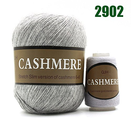 Yarn|Best Quality 100% Mongolian Cashmere Hand-Knitted Cashmere Yarn Wool Cashmere Knitting Yarn Ball Scarf Wool Yarny Baby 50 Grams|by CUSODI|