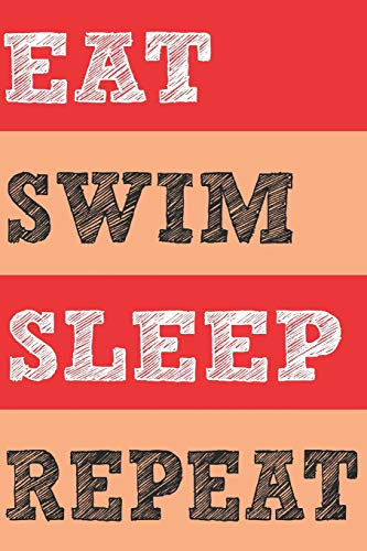 Eat Swim Sleep Repeat: Bullet Journal Dot Grid Notebook