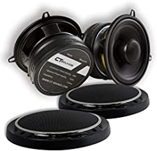 CT Sounds 5.25 Inch Car Audio Coaxial Speakers Set - Pair, Full Range , Easy Mounting, 4 ohm 1.4