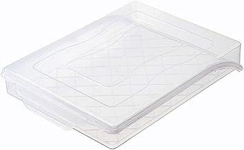 Gereedschapsaccessoires Transparante Koelkast Dumpling Keuken Opbergdoos Voedselrek Case met Cover (Kleur: Transparant)