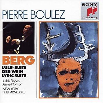 Berg: Lulu Suite, Der Wein & Lyrischen Suite