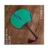 YUNGYE Neue japanische Fan-Runde Bambus Fan Hand chinesischen Stil Sommer