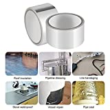 Aluminium Folie Klebeband, hitzebeständig Vereitelt Tape Rollen für Klimaanlage Reparatur, Kanäle, Isolierung, Trockner, Jewelry & Basteln, (1Pack)