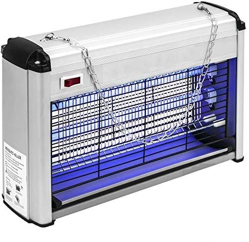 Azorex Lámpara Antimosquitos UV 3W / 12W / 30W Lampara Mata Insectos Mosquitos Exterior Interior Moscas Electrico Anti Mosquitos (12W)