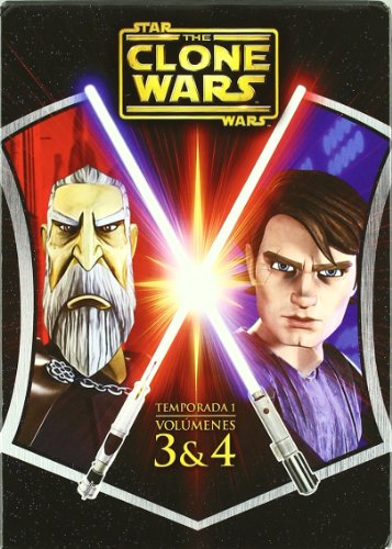 Star Wars: The Clone Wars Temporada 1 Volumenes 3 Y 4 [DVD]