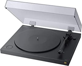 Sony PSHX500 Hi Res USB Turntable (Black) (Renewed)