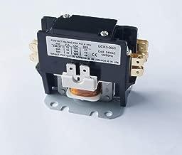 BlueCatELE Air Conditioner Contactor Condenser Contactor Compressor Contactor 1P FLA 32Amp 24V Coil