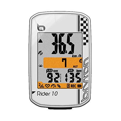 Bryton Rider 10 GPS Cycling Computer (2.0', Rider 10E (White))